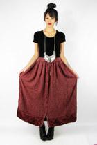 maroon Trashy Vintage skirt