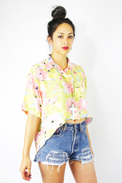 light pink Trashy Vintage shirt