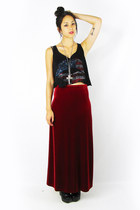 crimson Trashy Vintage skirt