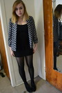 Blue-target-jacket-black-cotton-on-skirt