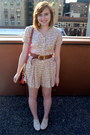 Cream-vintage-romper-off-white-aphorism-shoes-ruby-red-betsey-johnson-bag
