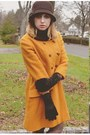 Dark-brown-sofft-shoes-gold-vintage-coat-dark-brown-hat
