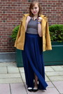 Mustard-patrizia-pepe-coat-black-clabel-flats-black-h-m-top