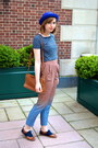 Blue-h-m-hat-tawny-restricted-shoes-tawny-vintage-coach-bag-navy-xxi-top