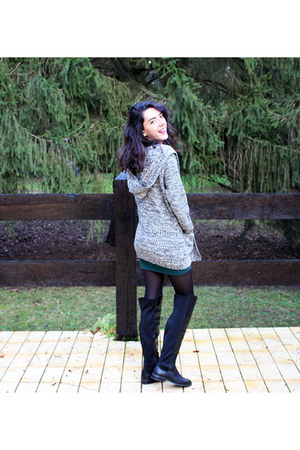 Forever 21 cardigan - Pimkie boots