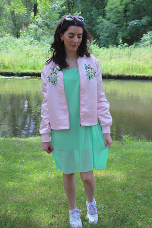 pink sammydress sunglasses - aquamarine sammydress dress