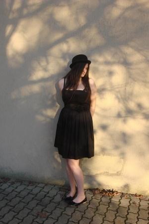 H&M hat - H&M dress - shoes