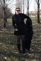 rayban glasses - H&M blazer - H&M skirt - Ugg socks