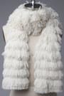 Faux-fur-scarf