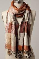 scarfred scarf tricisny scarf