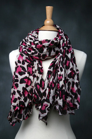 leapard scarf tricisny scarf