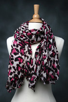 leapard scarf tricisny scarf