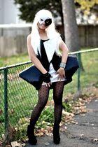 black diy LADY G dress