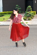 maroon American Rag skirt