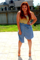 Charlotte Russe shoes - Old Navy top - top