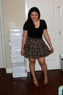 Black-forever-21-top-brown-forever-21-skirt-brown-rampage-shoes-black-doll