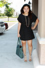 Black-forever-21-dress-beige-mrkt-shoes-green-b-makowsky-purse-pink-foreve