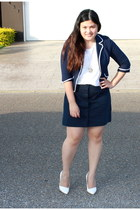 navy Gap skirt