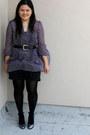 Black-forever-21-intimate-deep-purple-american-rag-blouse-black-charlotte-ru