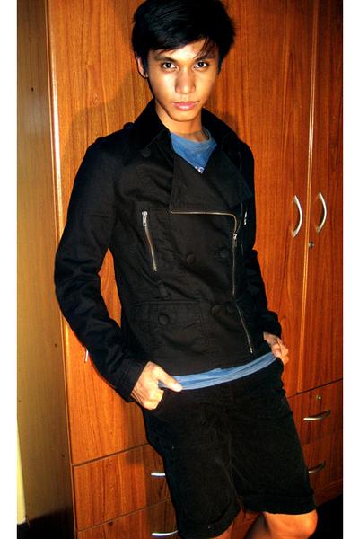 French Connecion jacket - Giordano Concepts shorts - DKNY
