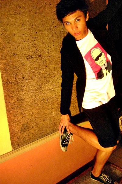 Paul Smith shoes - Giordano Concepts shorts - AM Blvd t-shirt - Topman blazer