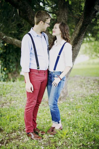 boyfriend Gap jeans - white button down BDG shirt - oxford vintage flats