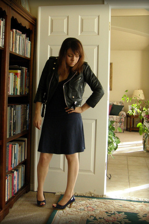 Hot Leathers jacket - American Eagle dress - Qupid shoes