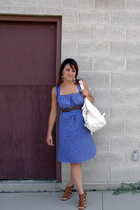 Urban Renewal dress - belt - Glaze shoes - purse