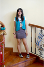 Gray-people-are-people-skirt-black-payless-shoes-shoes-white-terranova-shirt