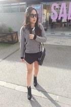 Dotti boots - Mango bag - Zara skirt - knitted Glassons jumper