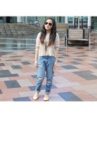 Glassons jeans - cotton on top - Zara flats