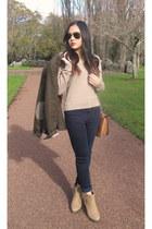 Glassons boots - Topshop jeans - Zara jacket - kate spade bag