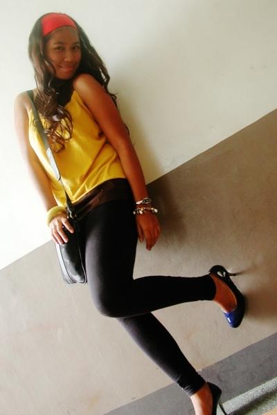 Juana blouse - coach purse - BGems accessories - 168 shoes
