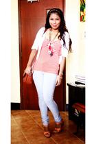 Sinequanone jacket - Wallis t-shirt - Zara leggings - aerosoles shoes