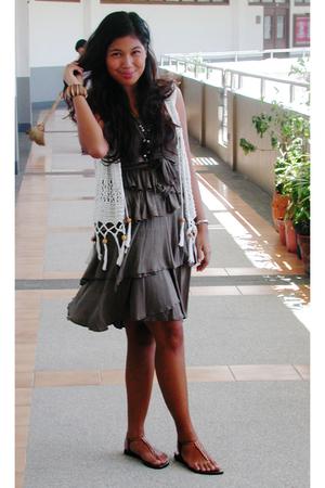 Sinequanone dress - random from thailand vest