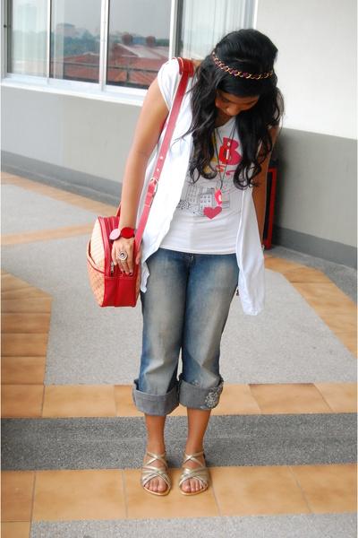 next jeans - Mango purse
