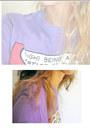 Violet-pull-bear-t-shirt