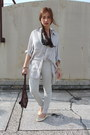 Topshop-purse-ralph-lauren-top-cotton-on-pants-metallic-yosi-samra-flats