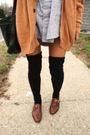 Beige-thrifted-cardigan-cardigan-silver-american-apparel-dress-black-america