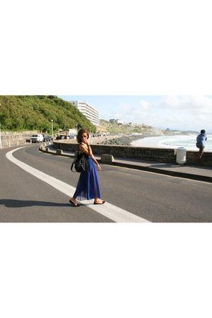 blue American Apparel skirt
