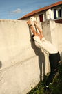 Beige-anna-and-frank-blouse-black-urban-outfitters-pants