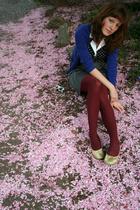 H&M sweater - tights - H&M skirt