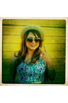 Forever 21 hat - Forever 21 dress - Forever 21 sunglasses