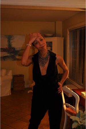 Zadig et Voltaire watch - snake Zara pumps - Ballabooste necklace - BCBG jumper