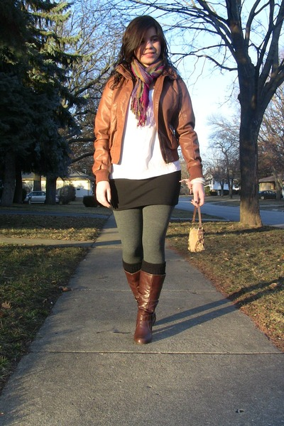 Leather Jackets And Boots - Jacket