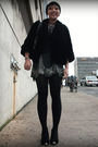 Black-vintage-coat-gray-uo-skirt-black-shirt-silver-f21-necklace-black-s