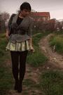 Gray-vintage-blazer-blue-diy-skirt-black-charlotte-russe-belt-black-f21-sh