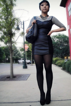 black silence and noise dress