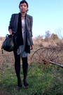 Thrifted-blazer-f21-cardigan-lipsy-dress-the-sak-purse-f21-necklace-f2