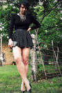 Black-asos-dress-black-f21-skirt-black-calvin-klein-shoes-f21-belt